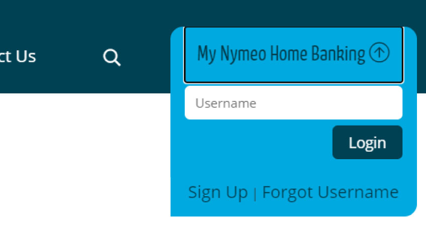 Nymeo Online banking